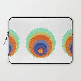Peacock Woodprint Laptop Sleeve