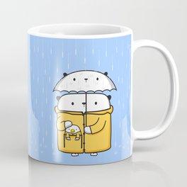 Opi y Kipi en la lluvia Coffee Mug