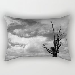 Nature in black and white ~ 3 Rectangular Pillow