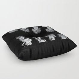 A Walk in the Park v2 Floor Pillow