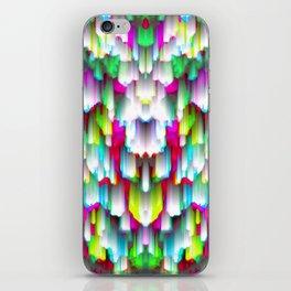 Colorful digital art splashing G396 iPhone Skin