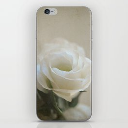 White Lisianthus iPhone Skin