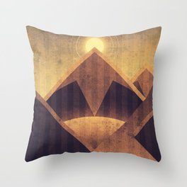 Earth - Mount Everest Throw Pillow
