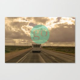 go play Canvas Print