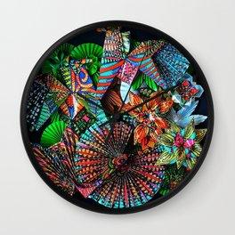 2 Caballeros and a Koi Wall Clock