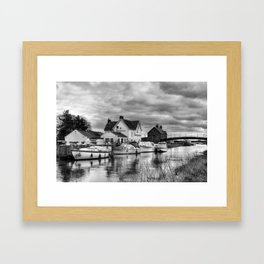 Crown and Anchor Framed Art Print