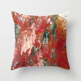 Desert Rust Throw Pillow