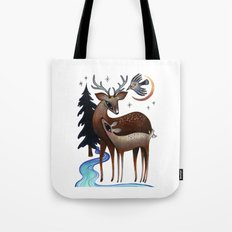 Father & Daughter Tote Bag