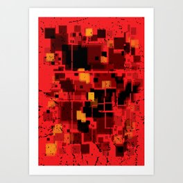 Abstract Composition #4 Art Print