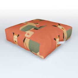 Whimsy Kangaroo Outdoor Floor Cushion