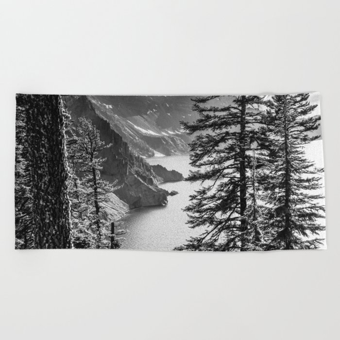 Forest Lake Retreat - Crater Lake Beach Towel