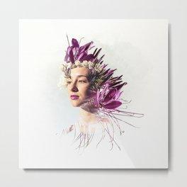 Miss Spike - BeFlower Metal Print