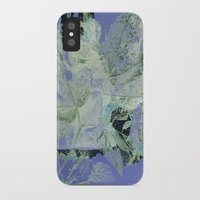 transparent iPhone & iPod Cases featuring transparent flowers by clemm