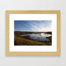 Thingvellir National Park Framed Art Print