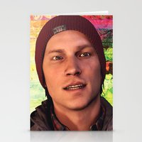 infamous Stationery Cards featuring InFamous: Second Son - Delsin Rowe by Felicia