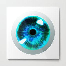 Fantastic Eye Metal Print
