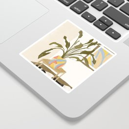 The Plant Room Sticker