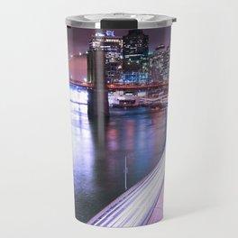 City Lights Highway Travel Mug