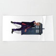 12th Doctor Beach Towel