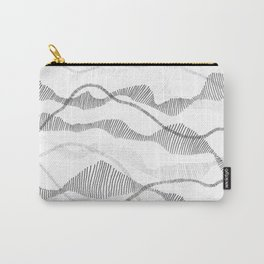 Segmented Flow Carry-All Pouch