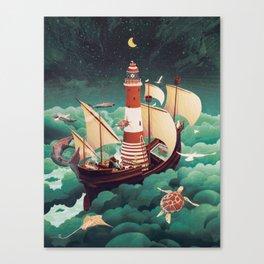 Light of freedom Canvas Print