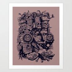 Mictecacihuatl Art Print
