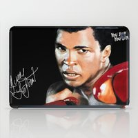 ali iPad Cases featuring ALI 4 by YBYG