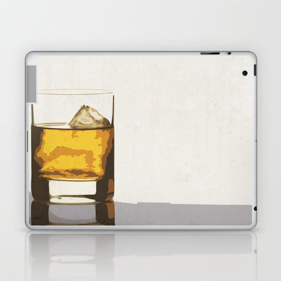 Old Scotch Whiskey Laptop & iPad Skin