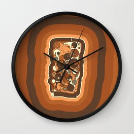Yummy Wall Clock