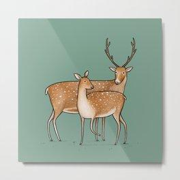 My Deer Metal Print