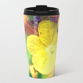 Secret Garden   Cucumber flower Travel Mug