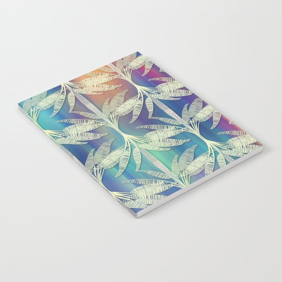 Tropical Mood 2 pattern Notebook