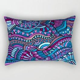 Boho Carnivale Pattern 3 Rectangular Pillow