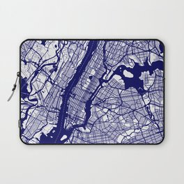 New York City Map 02 Laptop Sleeve
