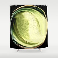 shining Shower Curtains featuring Shining by Rose Etiennette