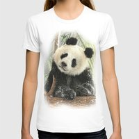 china T-shirts featuring China Bear by Trudi Simmonds