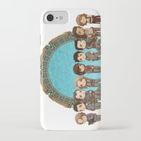 stargate iPhone & iPod Cases featuring Cast of Stargate Atlantis by Ravenno