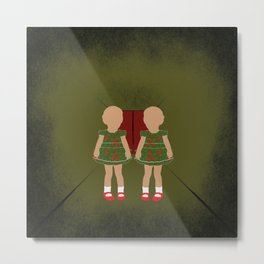 Twin Kids Metal Print
