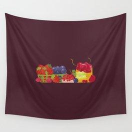 Berries. Sweet summer. Wall Tapestry