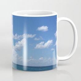 blue skies bright Coffee Mug