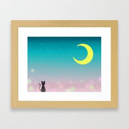 Sailor Night Framed Art Print