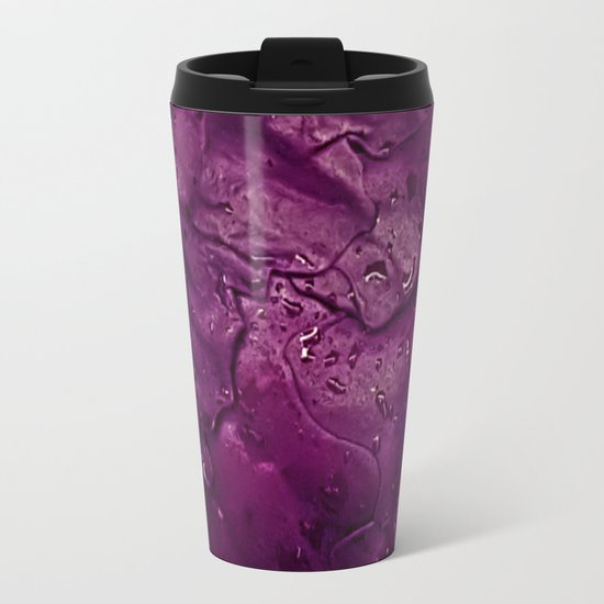Wet: Purple Metal Travel Mug