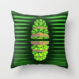 Kiwi Dissector 1994 A.D. Throw Pillow