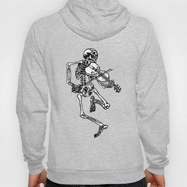 Skeleton Playing Violin Hoody