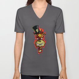 Trick Monkey - Voodoo Witch Doctor Unisex V-Neck