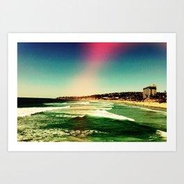 Rose colored lenses Art Print