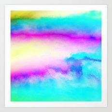 Happy Cloud III Art Print