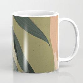 Tropical Leaf- Abstract Art Coffee Mug