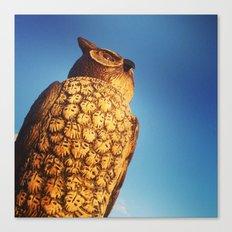 Watch Owl Canvas Print