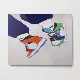 Trendy Sneaker Jordan Metal Print